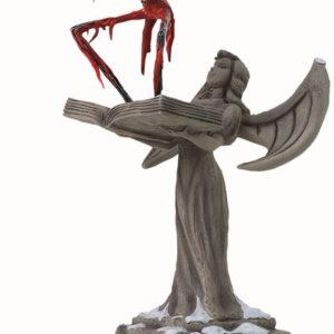 Santa Jack on Angel Statue